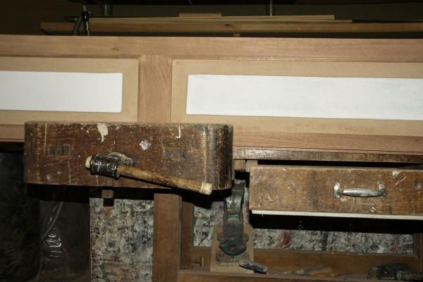 paneelluik op maat hout van noud